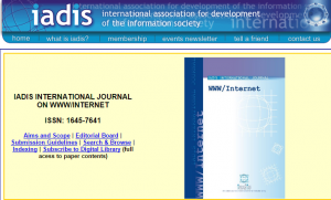 IADIS INTERNATIONAL JOURNAL ON WWW INTERNET